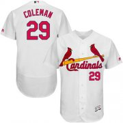Wholesale Cheap Cardinals #29 Vince Coleman White Flexbase Authentic Collection Stitched MLB Jersey