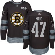 Wholesale Cheap Adidas Bruins #47 Torey Krug Black 1917-2017 100th Anniversary Stitched NHL Jersey