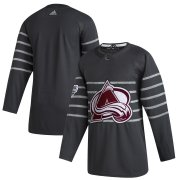 Wholesale Cheap Men's Colorado Avalanche Adidas Gray 2020 NHL All-Star Game Authentic Jersey