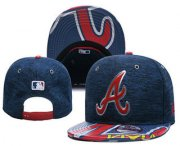 Wholesale Cheap MLB Atlanta Braves Snapback Ajustable Cap Hat YD 2