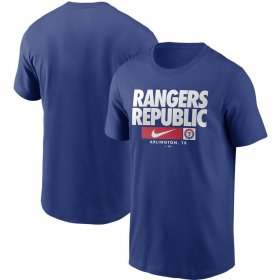 Wholesale Cheap Texas Rangers Nike Local Nickname T-Shirt Royal