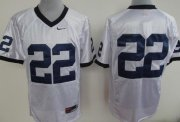 Wholesale Cheap Penn State Nittany Lions #22 White Jersey