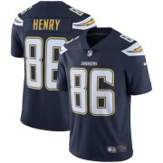 Wholesale Cheap Nike Chargers #86 Hunter Henry Navy Blue Team Color Youth Stitched NFL Vapor Untouchable Limited Jersey