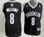 Wholesale Cheap Brooklyn Nets #8 Deron Williams Revolution 30 Swingman Black Jersey