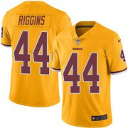 Wholesale Cheap Nike Redskins #44 John Riggins Gold Youth Stitched NFL Limited Rush Jersey