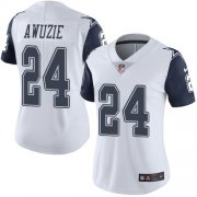 Wholesale Cheap Nike Cowboys #24 Chidobe Awuzie White Women's Stitched NFL Limited Rush Jersey