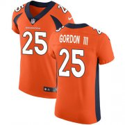Wholesale Cheap Nike Broncos #25 Melvin Gordon III Orange Team Color Men's Stitched NFL Vapor Untouchable Elite Jersey