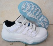 Wholesale Cheap Kids Air Jordan 11 Legend Blue White/Light blue