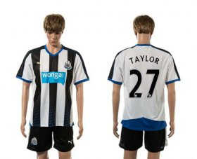 Wholesale Cheap Newcastle #27 Taylor Home Soccer Club Jersey