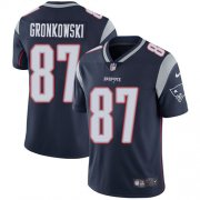 Wholesale Cheap Nike Patriots #87 Rob Gronkowski Navy Blue Team Color Youth Stitched NFL Vapor Untouchable Limited Jersey