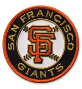 Wholesale Cheap Stitched MLB San Francisco Giants Road Sleeve Patch
