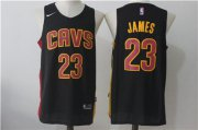 Wholesale Cheap Cleveland Cavaliers #23 LeBron James Navy Nike Stitched Jersey