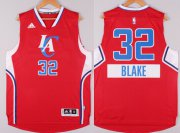 Wholesale Cheap Los Angeles Clippers #32 Blake Griffin Revolution 30 Swingman 2014 Christmas Day Red Jersey
