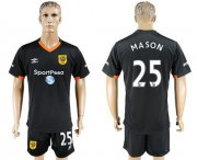 Wholesale Cheap Hull City #25 Mason Away Soccer Club Jersey