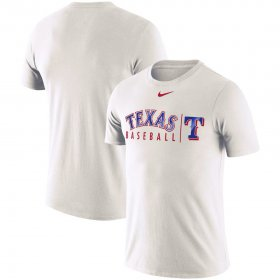 Wholesale Cheap Texas Rangers Nike MLB Practice T-Shirt White