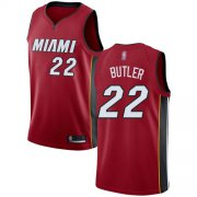 Wholesale Cheap Heat #22 Jimmy Butler Red Basketball Swingman Statement Edition Jersey
