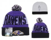 Wholesale Cheap Baltimore Ravens Beanies YD013
