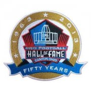 Wholesale Cheap Stitched NFL 1963-2013 Pro Football Hall of Fame 50th Anniversary Fifty Years Jersey Patch