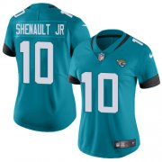 Wholesale Cheap Nike Jaguars #10 Laviska Shenault Jr. Teal Green Alternate Women's Stitched NFL Vapor Untouchable Limited Jersey