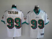 Wholesale Cheap Dolphins Jason Taylor #99 White Stitched NFL Jersey