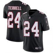 Wholesale Cheap Nike Falcons #24 A.J. Terrell Black Alternate Youth Stitched NFL Vapor Untouchable Limited Jersey