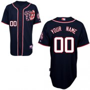 Wholesale Cheap Nationals Authentic Black 2011 Cool Base MLB Jersey (S-3XL)