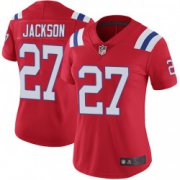 Wholesale Cheap Women's New England Patriots #27 J.C. Jackson Limited Vapor Untouchable Alternate Red Jersey