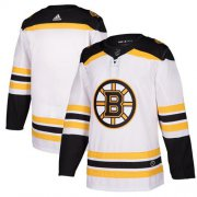 Wholesale Cheap Adidas Bruins Blank White Road Authentic Stitched NHL Jersey
