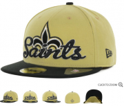 Wholesale Cheap New Orleans Saints fitted hats 06
