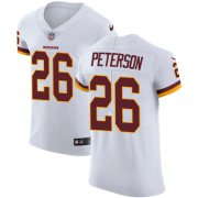 Wholesale Cheap Nike Redskins #26 Adrian Peterson White Men's Stitched NFL Vapor Untouchable Elite Jersey