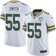 Wholesale Cheap Nike Packers #55 Za'Darius Smith White Youth 100th Season Stitched NFL Vapor Untouchable Limited Jersey