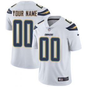 Wholesale Cheap Nike San Diego Chargers Customized White Stitched Vapor Untouchable Limited Men\'s NFL Jersey