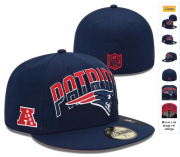 Wholesale Cheap New England Patriots fitted hats 12