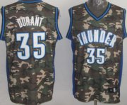 Wholesale Cheap Oklahoma City Thunder #35 Kevin Durant Camo Fashion Jersey