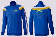 Wholesale Cheap NFL Los Angeles Chargers Victory Jacket Blue