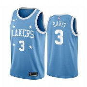 Wholesale Cheap Nike Lakers #3 Anthony Davis Blue Minneapolis All-Star Classic NBA Jersey