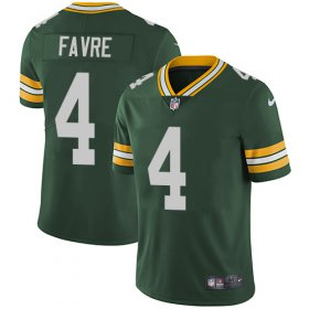 Wholesale Cheap Nike Packers #4 Brett Favre Green Team Color Youth Stitched NFL Vapor Untouchable Limited Jersey