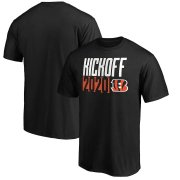Wholesale Cheap Cincinnati Bengals Fanatics Branded Kickoff 2020 T-Shirt Black