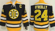 Wholesale Bruins #24 Terry O'Reilly Black CCM Youth Stitched NHL Jersey
