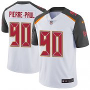 Wholesale Cheap Nike Buccaneers #90 Jason Pierre-Paul White Men's Stitched NFL Vapor Untouchable Limited Jersey