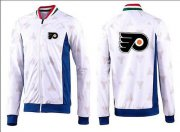 Wholesale Cheap NHL Philadelphia Flyers Zip Jackets White-2