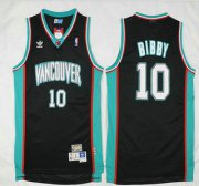 Wholesale Cheap Memphis Grizzlies #10 Mike Bibby Black Hardwood Classics Soul Swingman Throwback Jersey