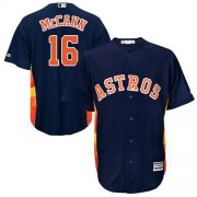 Wholesale Cheap Astros #16 Brian McCann Navy Blue Cool Base Stitched Youth MLB Jersey