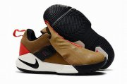 Wholesale Cheap Nike Lebron James Ambassador 11 Shoes Khaki Orange Black
