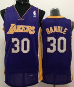 Wholesale Cheap Los Angeles Lakers #30 Julius Randle Purple Swingman Jersey