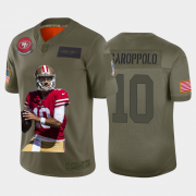 Cheap San Francisco 49ers #10 Jimmy Garoppolo Nike Team Hero 2 Vapor Limited NFL Jersey Camo