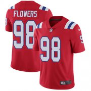 Wholesale Cheap Nike Patriots #98 Trey Flowers Red Alternate Youth Stitched NFL Vapor Untouchable Limited Jersey
