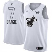 Wholesale Cheap Nike Heat #7 Goran Dragic White NBA Jordan Swingman 2018 All-Star Game Jersey