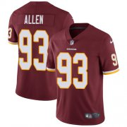 Wholesale Cheap Nike Redskins #93 Jonathan Allen Burgundy Red Team Color Youth Stitched NFL Vapor Untouchable Limited Jersey