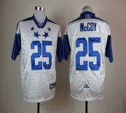 Wholesale Cheap Eagles #25 LeSean McCoy White 2012 Pro Bowl Stitched NFL Jersey